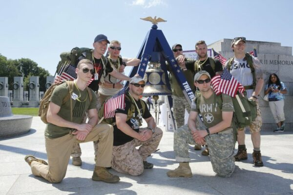 America's Freedom Bell & Soldiers